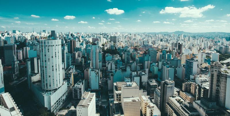 foto aérea de são paulo