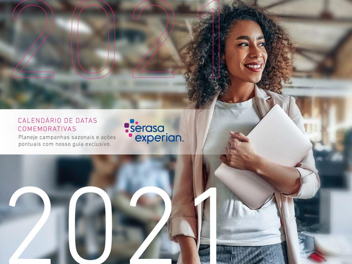 Calendário de Datas Comemorativas 2021