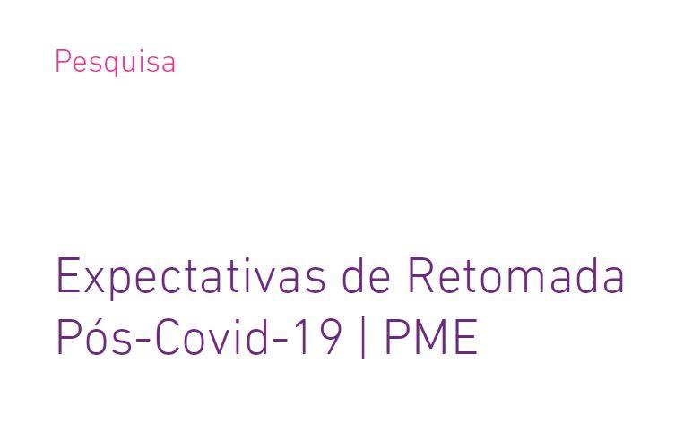 eBook com a pesquisa completa sobre as expectativas de retomada da economia após a Covid-19